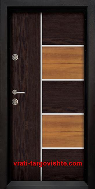 Блиндирана входна врата, модел Ale Door 401