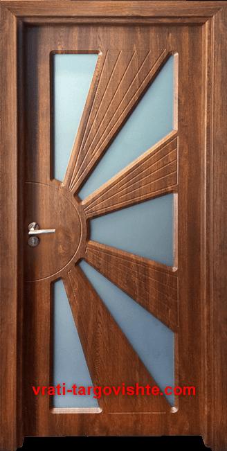 Интериорна врата Gama 204, цвят Златен дъб