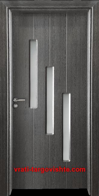 Интериорна врата Gama 206, цвят Сив кестен