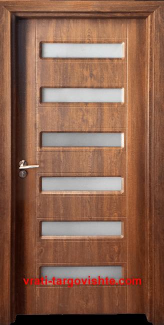 Интериорна врата Gama 207, цвят Златен дъб