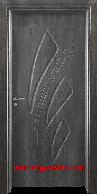 Интериорна врата Gama 202p, цвят Сив кестен