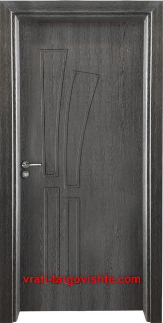 Интериорна врата Gama 205p, цвят Сив кестен