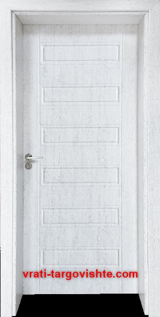 Интериорна врата Gama 207p, цвят Бреза