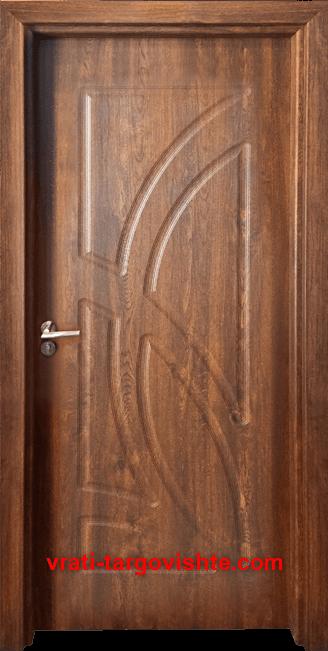 Интериорна врата Gama 208p, цвят Златен дъб