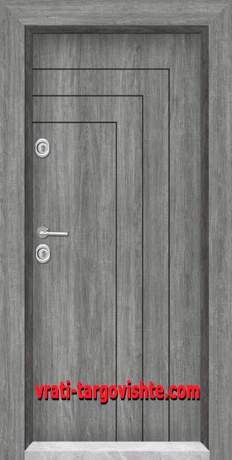 Блиндирана входна врата, модел 1002
