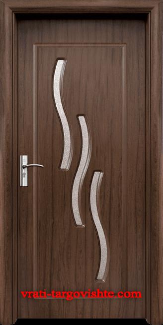 Интериорна врата Стандарт 014, цвят Орех