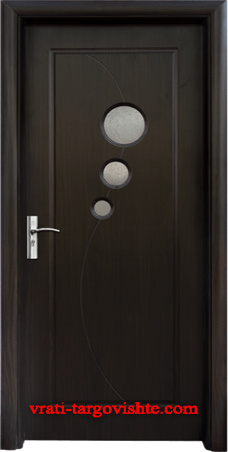 Интериорна врата Стандарт 017, цвят Венге