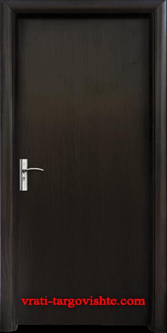 Интериорна врата Стандарт 030, цвят Венге