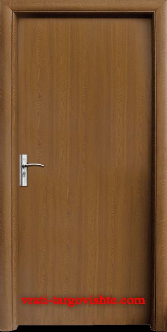 Интериорна врата Стандарт 030, цвят Златен дъб