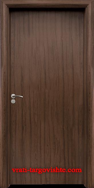 Интериорна врата Стандарт 030, цвят Орех