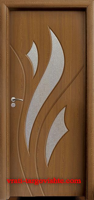 Интериорна врата Стандарт 033, цвят Златен дъб