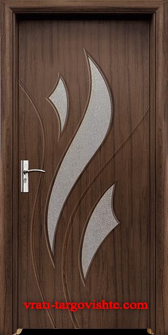 Интериорна врата Стандарт 033, цвят Орех